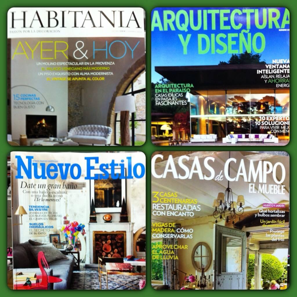 las primeras revistas de decoracin de febrero y a continuacin la revista clara y muy saludable - Revistas De Decoracion