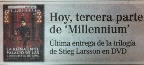 milenium 3