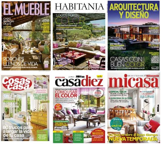 Revista decoracion casa diez revista ucasa diezu n julio for Casa y jardin revista pdf