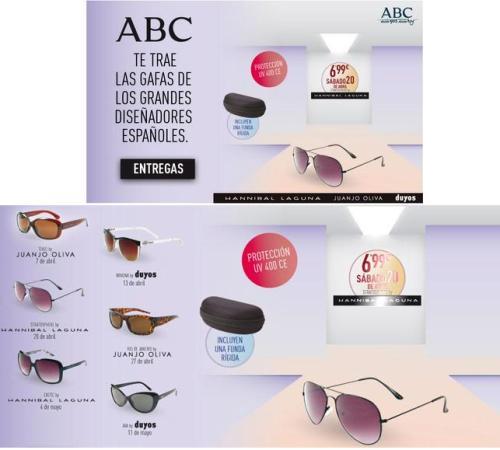 gafas abc diseñadores