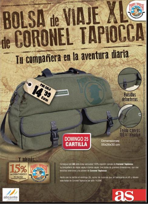 bolso viaje coronel tapioca